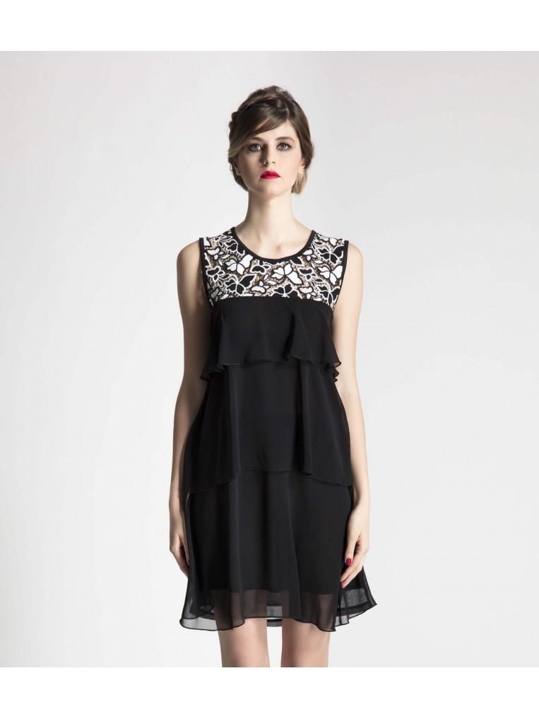 BLACK FANTASY DRESS